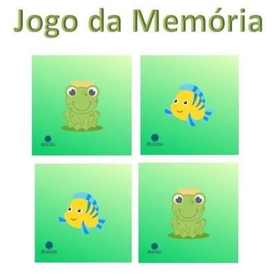 JOGO GRATUITO - Jogo da memória cute